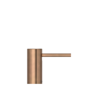 Nordic soap dispenser patinated brass